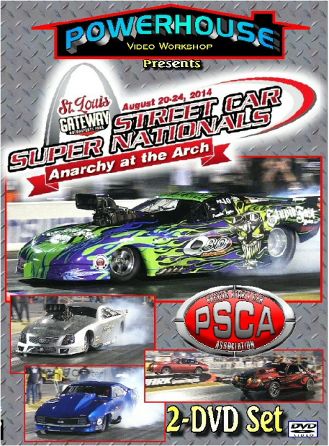 Street Car Super Nationals Anarchy At The Arch DVD