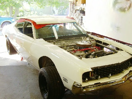 1970 Ford Torino NASCAR Boss 429 (restored)