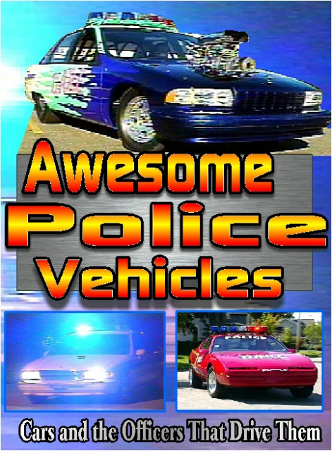 Awesome Police Vehicles DVD