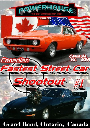 Canadian Fastest Street Car Shootout #1 DVD