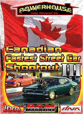Canadian Fastest Street Car Shootout #3 DVD