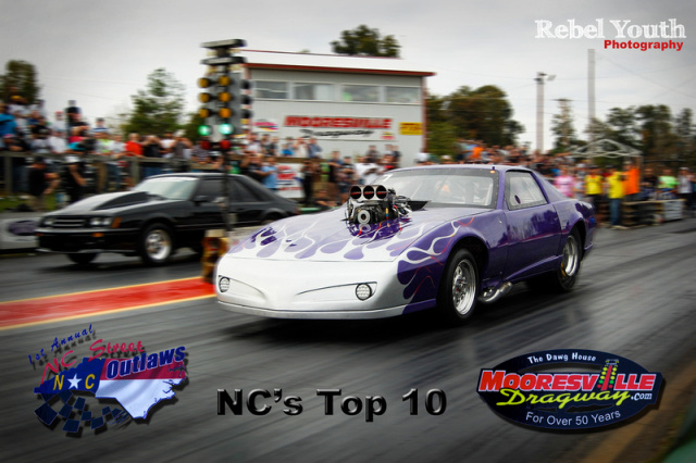 NC Street Outlaws -10 Fastest Street Cars of North Carolina